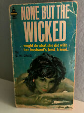 NONE BUT THE WICKED - DW Craig - Vintage Paperback Erotic - Midwood-Tower 1963