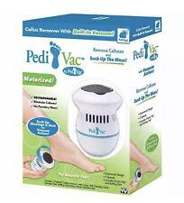 Pedi Vac Callus Remover Built-In Vacuum Motorized Rechargeable VA1-0320 Bulbhead