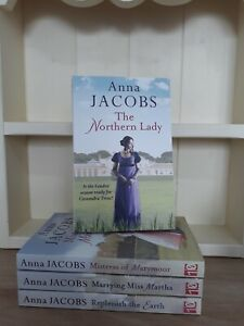 Collection of 4 x Paperback Romance Saga Books - Anna Jacobs, The Northern NEW