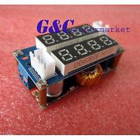 5A Adjustable CC/CV Display Step Down charge Module LED Panel Voltmeter M30