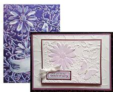 Delightful Daisies Embossing folder Spellbinders folders E3D003 flowers 3D 5x7