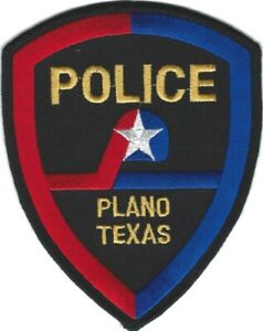 TEXAS - Plano Police patch