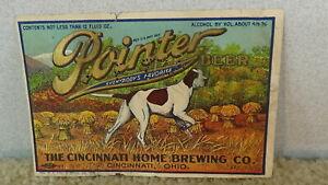 *OLD* Cincinnati Home Brewing Pointer pre-pro beer label