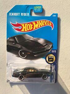 Hot Wheels KNIGHT RIDER KITT K.I.T.T. HW Screen Time 10/10 3/365 2015 Unopened