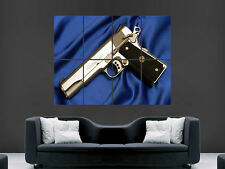 COLT M1911 PISTOL GUN POSTER GIANT WALL ART PICTURE PRINT LARGE HUGE