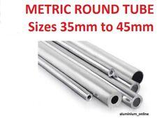 ALUMINIUM ROUND TUBE METRIC 35mm 38mm 40mm 42mm 45mm
