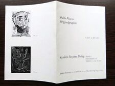 Invitation Exposition Vernissage Thomas & Ilse Dawo Galerie Bollag 1963  8