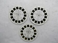 Vintage View Master 3D The Bugs Bunny & Road Runner Show M10 3 Reels A,B,C 1981