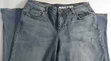 DKNY Brand Women's Size 12P Spring Street Flare Jeans Inseam 28