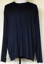Sport-Tek Navy Blue 100% Polyester Base Layer Long Sleeve Shirt 4XL