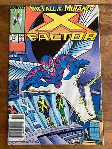 X-Factor #24 NM 1st Appearance of Archangel Newsstand 1988 Marvel Comics Key A