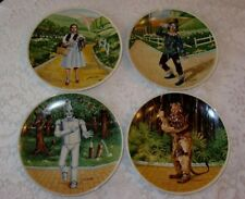 Knowles Collector Plates Wizard Of Oz. Set of 4. New with letter of authenticity