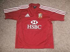 ADIDAS Official British & Irish LIONS 2009 South Africa Tour  RUGBY SHIRT~L/Boy