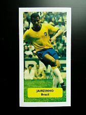 BRAZIL - BOTAFOGO - JAIRZINHO - Score UK football trade card