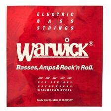 WARWICK 42210 ML RED LABEL Stainless Steel - Corde per basso  4 corde  40/100