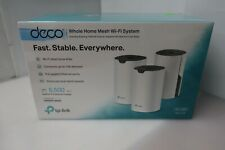 TP-Link Deco Whole Home Mesh WiFi System (Deco S4 3-Pack) Used