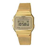 c872929a4a7e pequeño Reloj Pulsera CASIO JAPAN Dorado Mujer 33mm Golden Watch ...