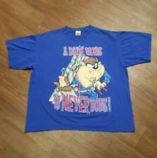 90s Vintage 1998 Looney Tunes Taz Tazmania A Dad's Work is Never Done Xl T-shirt