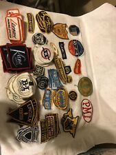 over 100 Vintage Arm Patches Uniform Bakers Power Companies Public Utilities