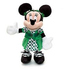 NUOVO UFFICIALE DISNEY 38cm Minnie Mouse DUBLINO morbido peluche giocattolo