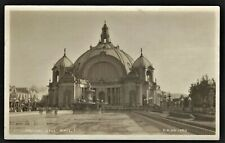 RPPC SAN FRANCISCO CA FESTIVAL HALL AT PAN-PACIFIC EXHIBITION 1915