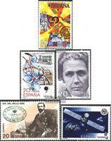 Spanien 2926,2927,2928,2936,2939 (kompl.Ausg.) postfrisch 1990 Sondermarken