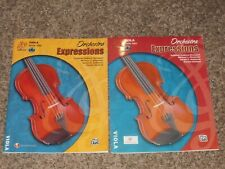 Orchestra Expressions Viola Book 1 2 with Cd Brungard Alexander Alfred One Two