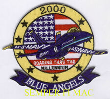 2000 BLUE ANGELS PATCH US NAVY MARINES F-18 HORNET C-130 HERCULES GIFT AIRSHOW