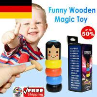 Immortal Daruma by Magic Stubborn wood Man Funny Wooden Magic Toy Two type Lot