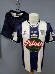 WALON ALIANZA LIMA PERU 2001 CENTENARY JERSEY SHIRT + SHORTS + SOCKS. SIZE L XL