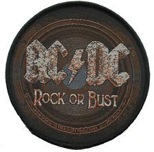 AC/DC - Patch Aufnäher - Rock or Bust 9x9cm