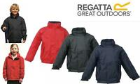 BOYS GIRLS REGATTA DOVER WATERPROOF FLEECE LINED JACKET | Kids