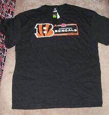 NEW NFL Cincinnati Bengals Football T Shirt Men 2XL XXL NEW NWT