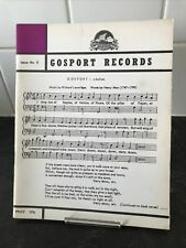 GOSPORT RECORDS ISSUE 6..MARCH 1973..PB EX HAMPSHIRE HISTORICAL