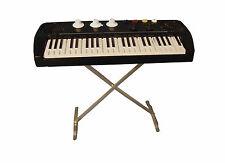 1:12th Scale Key Board On A Stand Dolls House Miniature Music Instrument 156