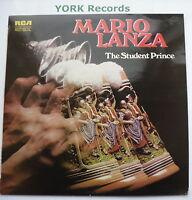 MARIO LANZA - The Student Prince - Excellent Con LP Record RCA Red Seal LSB 4107