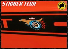 2X SUPER ROO SUPERROO XY GT 351 FORD FALCON VINYL STICKER DEACL PAIR AUSTRALIA