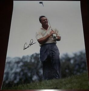 ARNOLD PALMER Signed Photo 16x20 JSA Authenticated COA