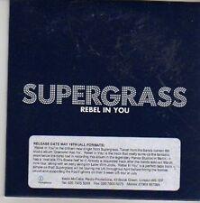 (CV232) Supergrass, Rebel In You - 2008 DJ CD