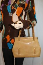 GOLDPFEIL 50er 60er true Vintage LEDER Tasche Henkeltasche 50s 60s Leather BAG