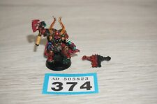 Warhammer 40k Chaos Space Marine Lord Metal LOT 374
