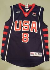 Carmelo Anthony Reebok Team USA Olympic Jersey #8 Stitched Size Youth Small (8)