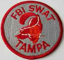 FBI Federal Bureau of Investigation SWAT Tampa Bay Buccaneers Logo Patch