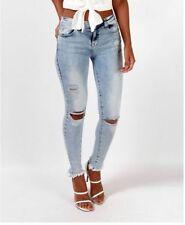 Cotton Blend Regular Mid Slim, Skinny Jeans for Women