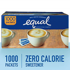 EQUAL 0 Calorie Sweetener, Sugar Substitute, Zero Calorie Sugar Alternative 1000