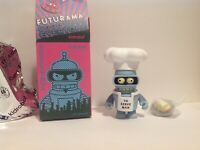 Kidrobot Futurama Chef Bender Good News Everyone Series 3-inch Figure