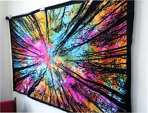 Tapestry Psychedelic Wall Hanging Bohemian Throw Decor Art