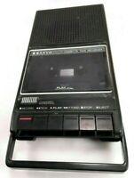 SANYO Cassette Recorder Tape Player Slim 1 DC 6V Mic Phone Jack Portable Handle