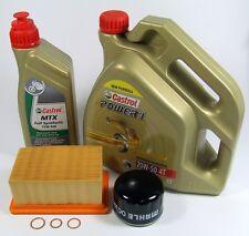 BMW R 1200 GS Service Kit Ölwechsel 20.000km Castrol 20W-50 Öl Filter Luftfilter