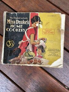 Miss Drake's Home Cookery Book Melbourne WWII era Australian Cook Book 1943